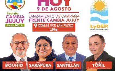 LANZAMIENTO DE CAMPAÑA FRENTE CAMBIA JUJUY